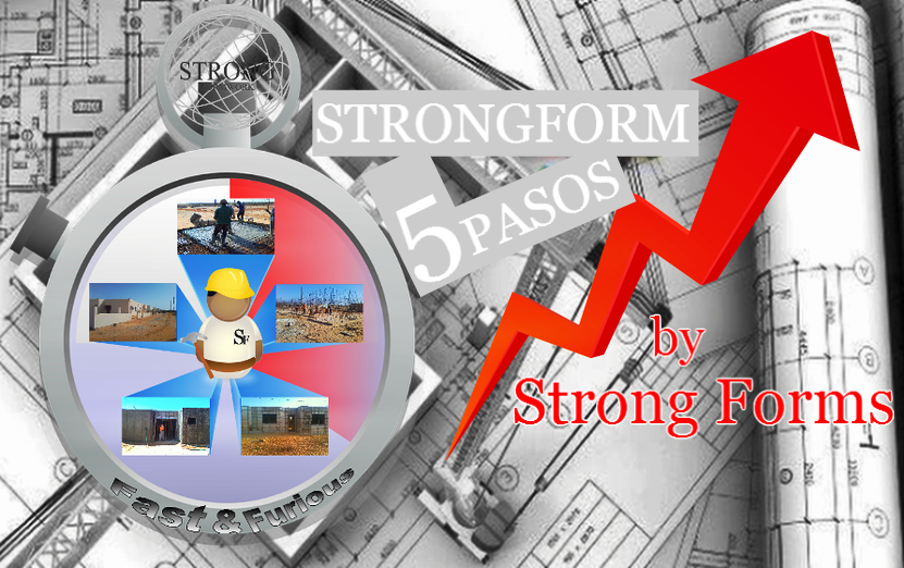 Strongforms - 5 pasos encofrados