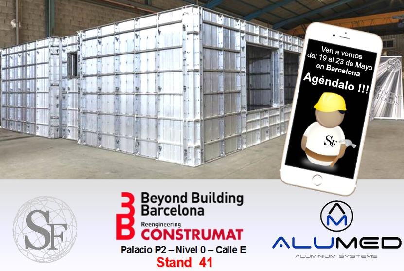 Strong Forms y su encofrado de aluminio presentes en construmat 2015