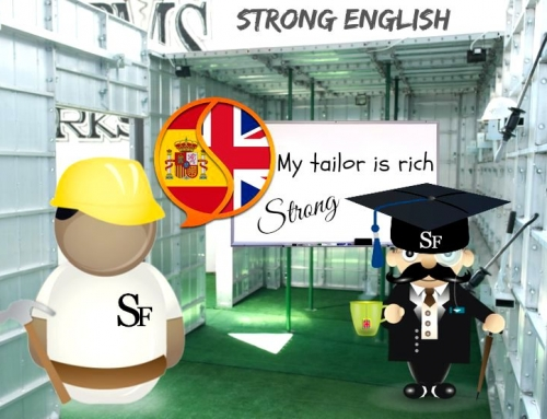I SPEAK STRONG ENGLISH