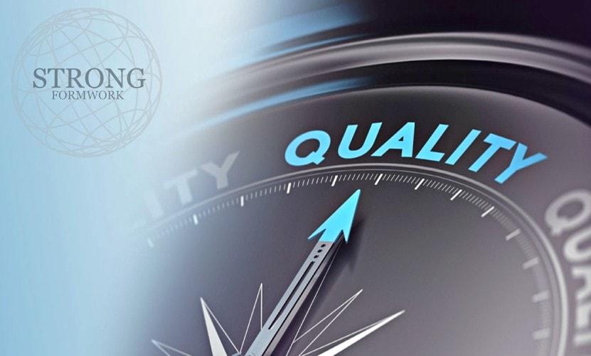 iso 9001 calidad homologacion certificacion encofrados de aluminio strong forms
