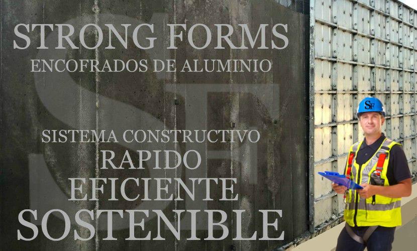 proyecto muro alicante encofrado de aluminio para construccion rapido eficiente sostenible strong forms