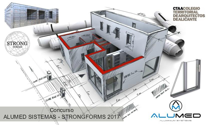 concurso arquitectura ctaa alumed sistemas 2017 sistema encofrado de aluminio para construccion strong forms alicante
