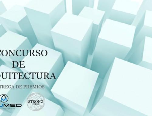 ENTREGA DE PREMIOS DEL I CONCURSO DE ARQUITECTURA ALUMED – STRONG EN EL CTAA