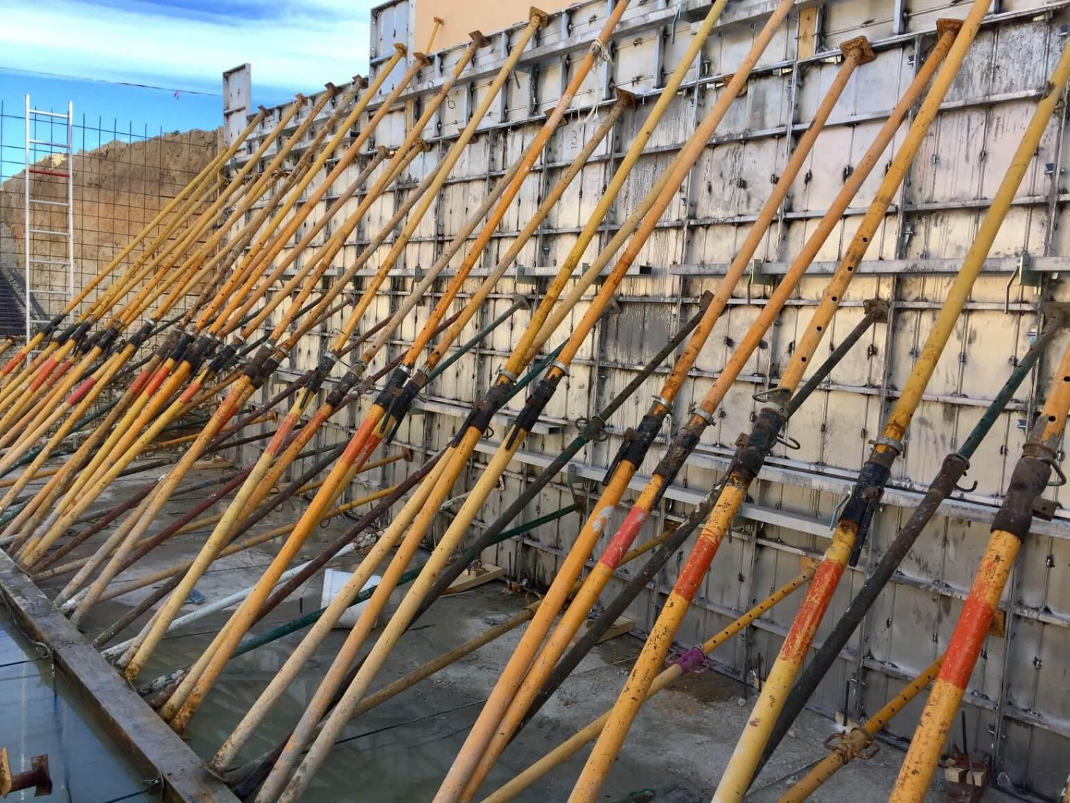 proyecto balsa para riego encofrados de aluminio construccion strong forms alicante 10
