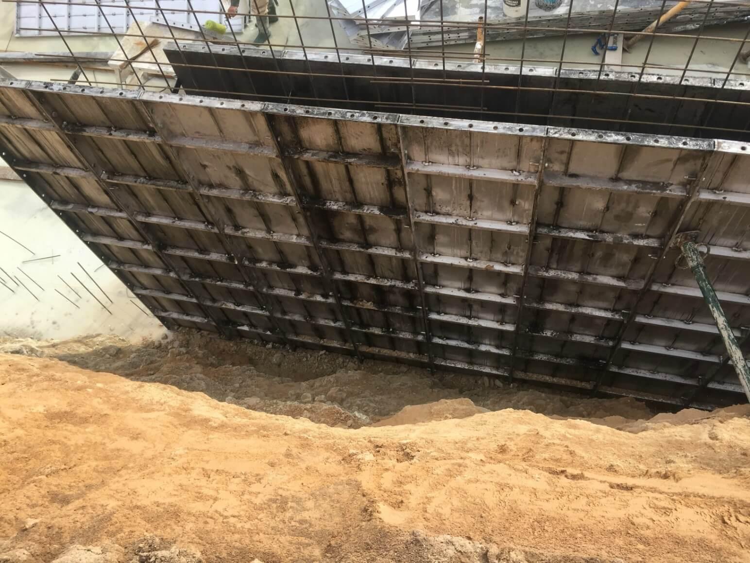 proyecto balsa para riego encofrados de aluminio construccion strong forms alicante 11