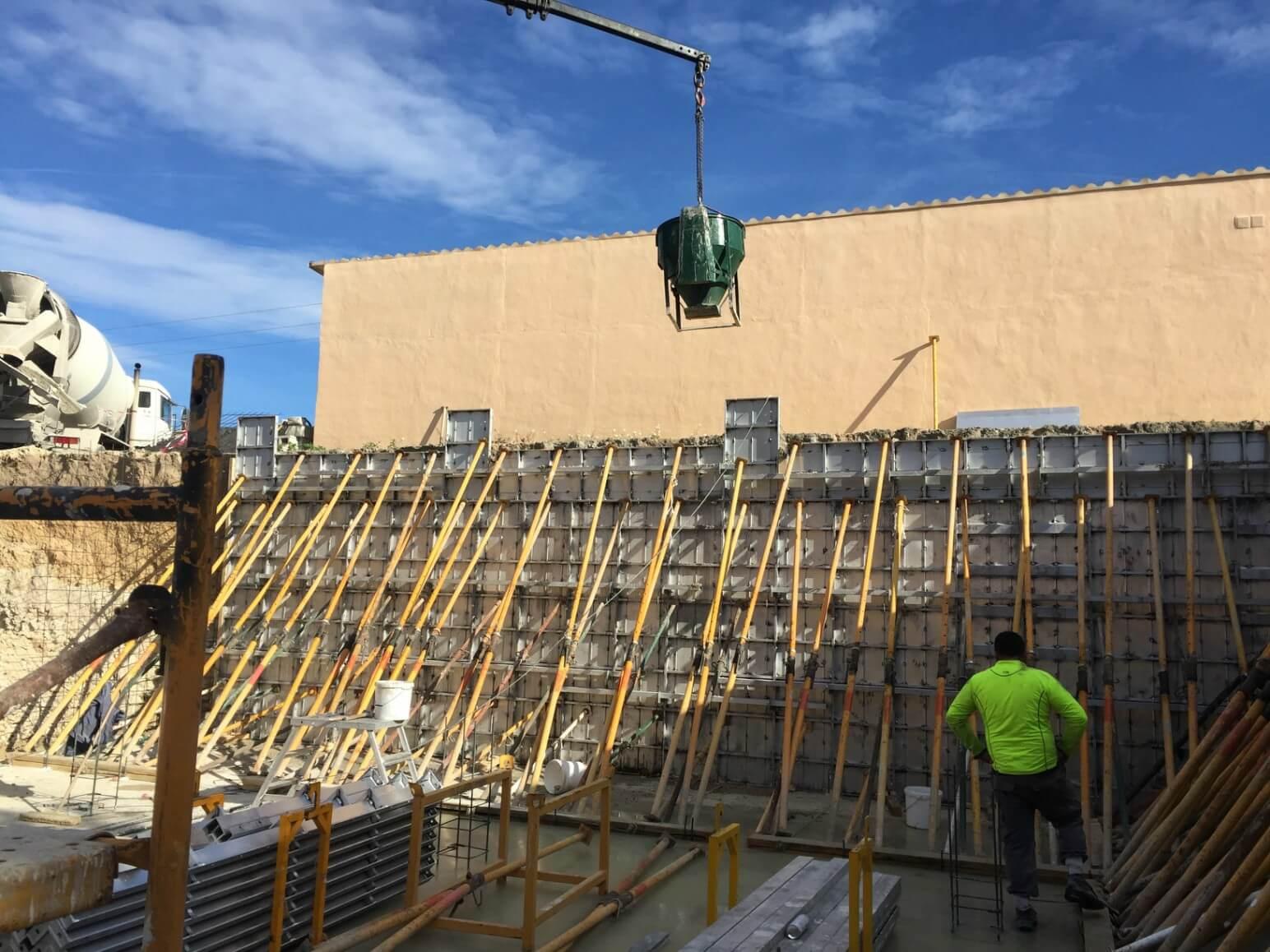 proyecto balsa para riego encofrados de aluminio construccion strong forms alicante 12