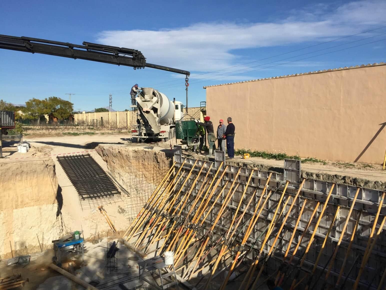 proyecto balsa para riego encofrados de aluminio construccion strong forms alicante 13