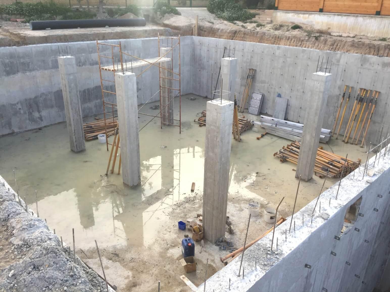 proyecto balsa para riego encofrados de aluminio construccion strong forms alicante 15