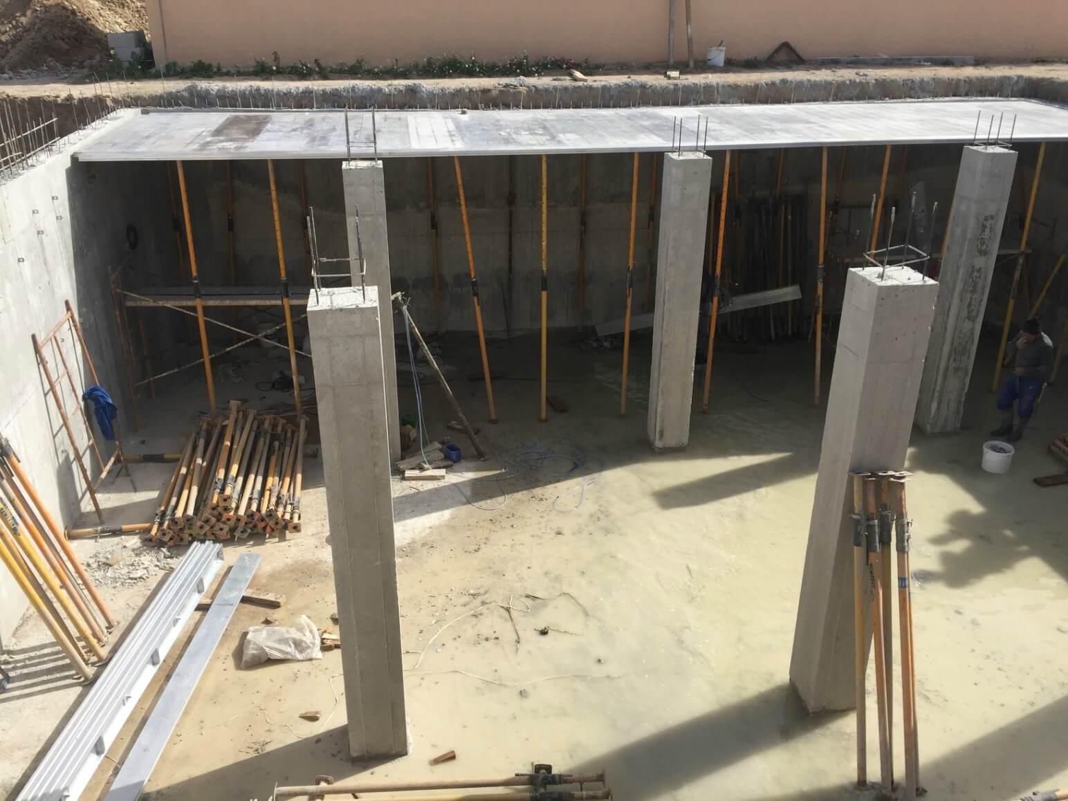 proyecto balsa para riego encofrados de aluminio construccion strong forms alicante 16