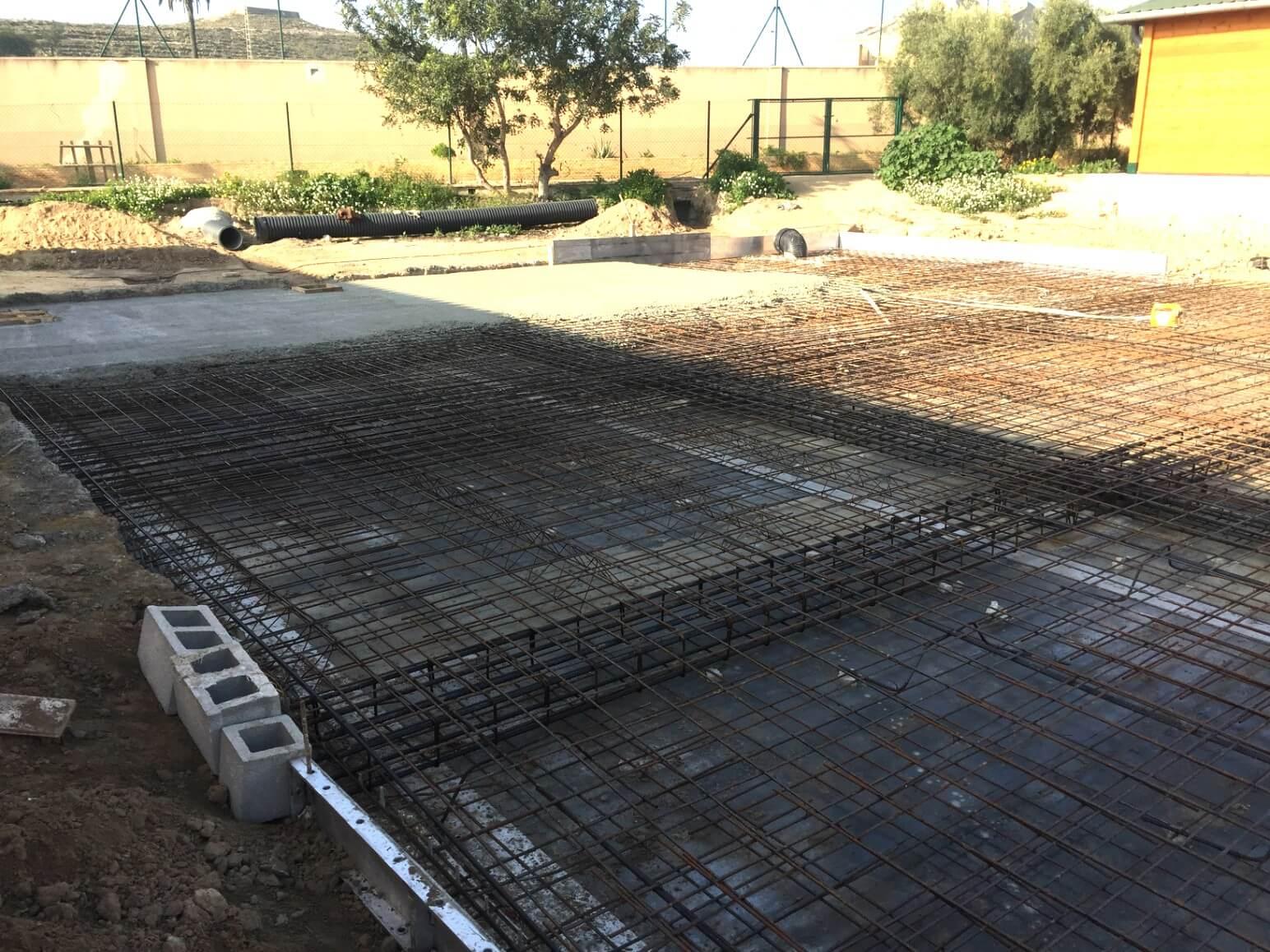 proyecto balsa para riego encofrados de aluminio construccion strong forms alicante 21