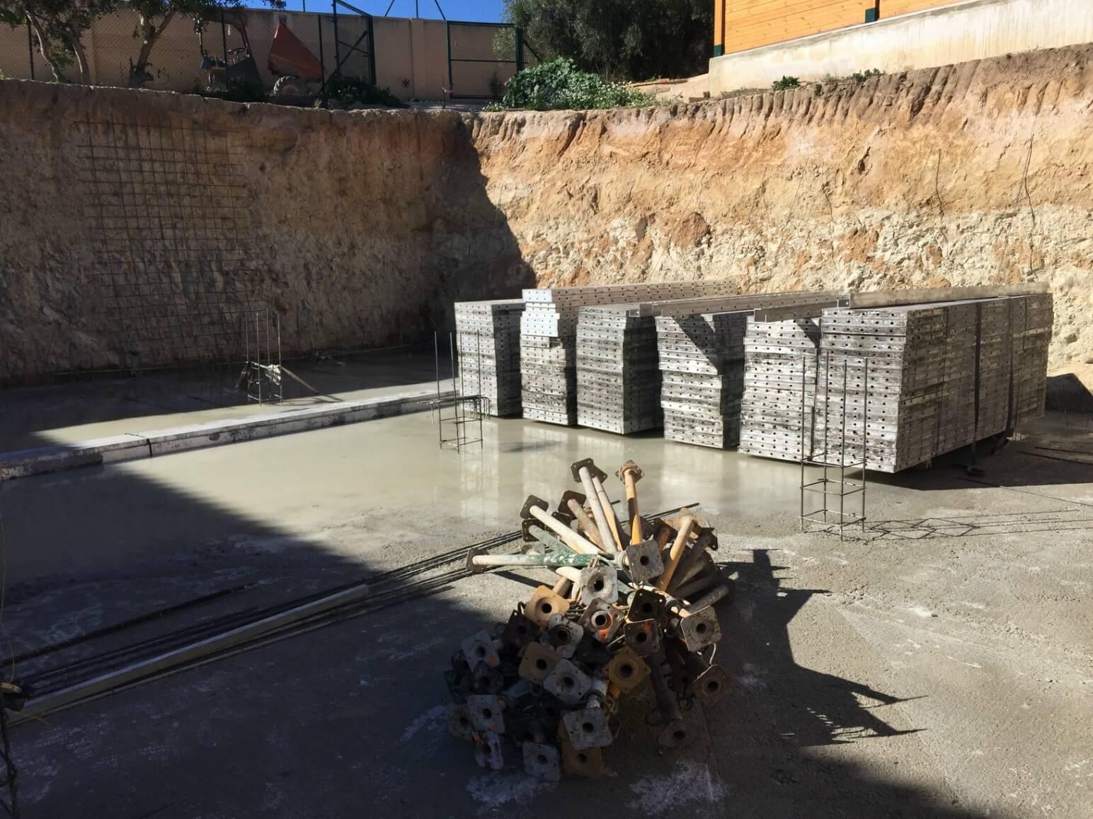 proyecto balsa para riego encofrados de aluminio construccion strong forms alicante 3