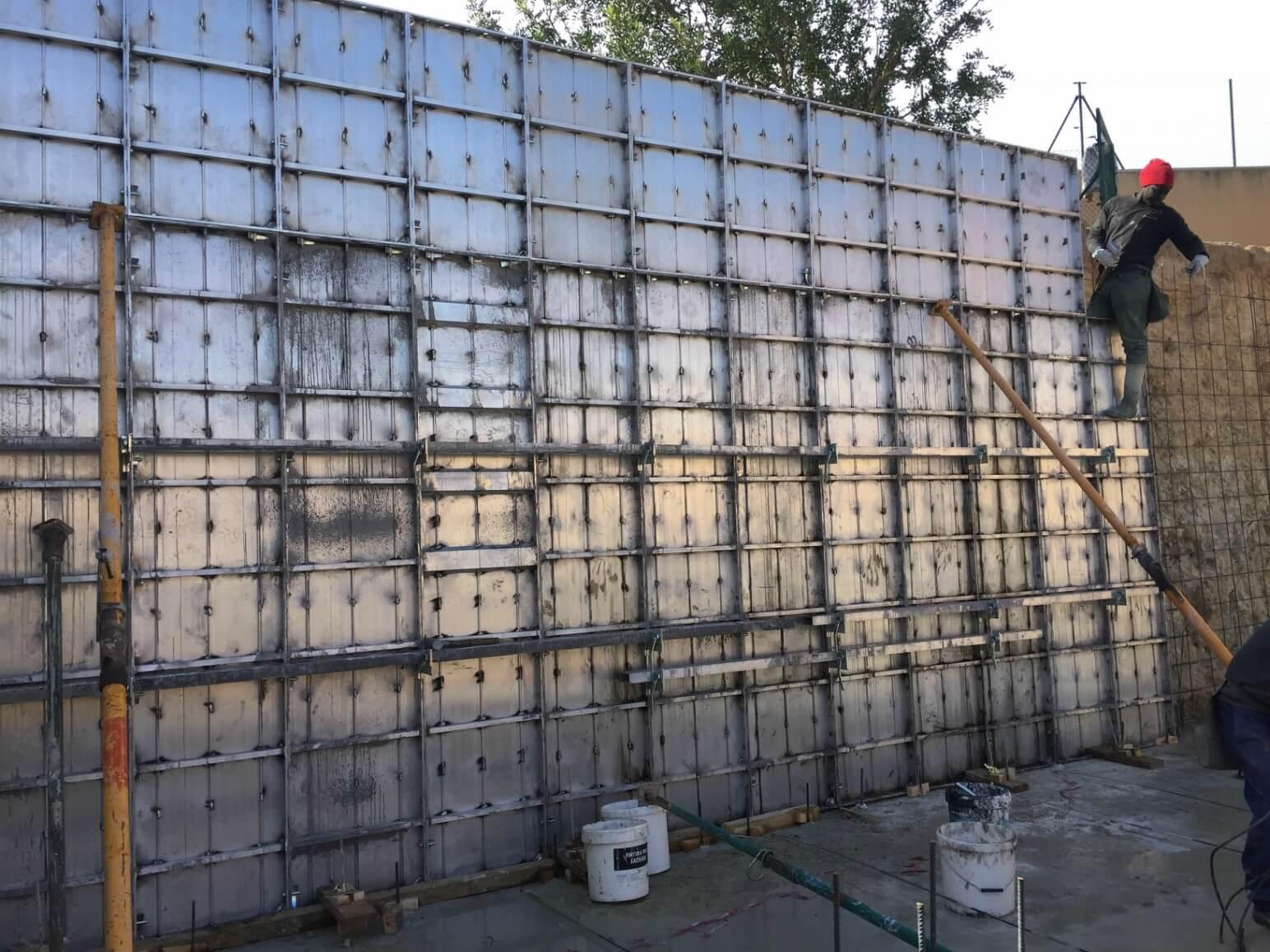 proyecto balsa para riego encofrados de aluminio construccion strong forms alicante 5
