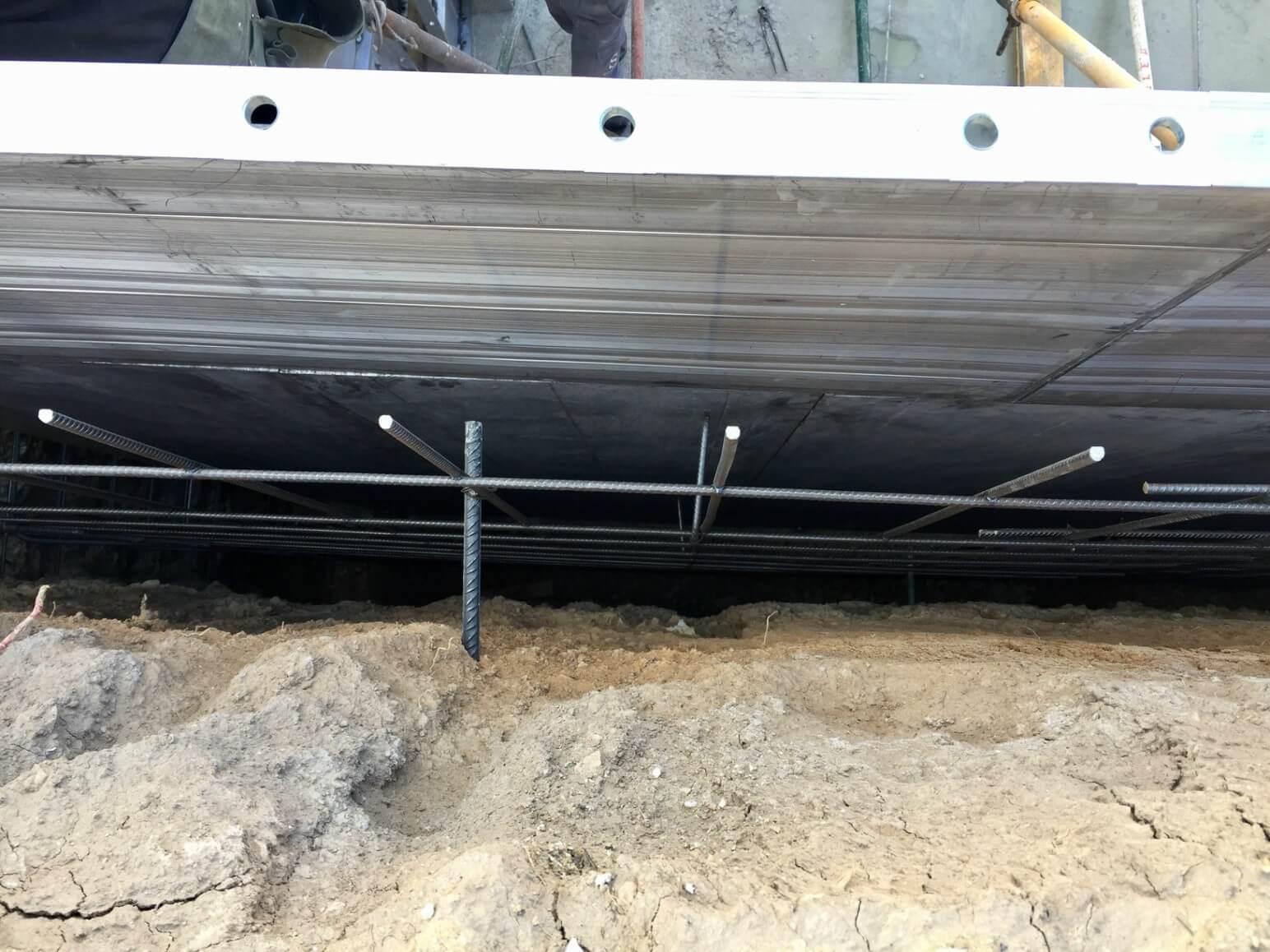 proyecto balsa para riego encofrados de aluminio construccion strong forms alicante 6
