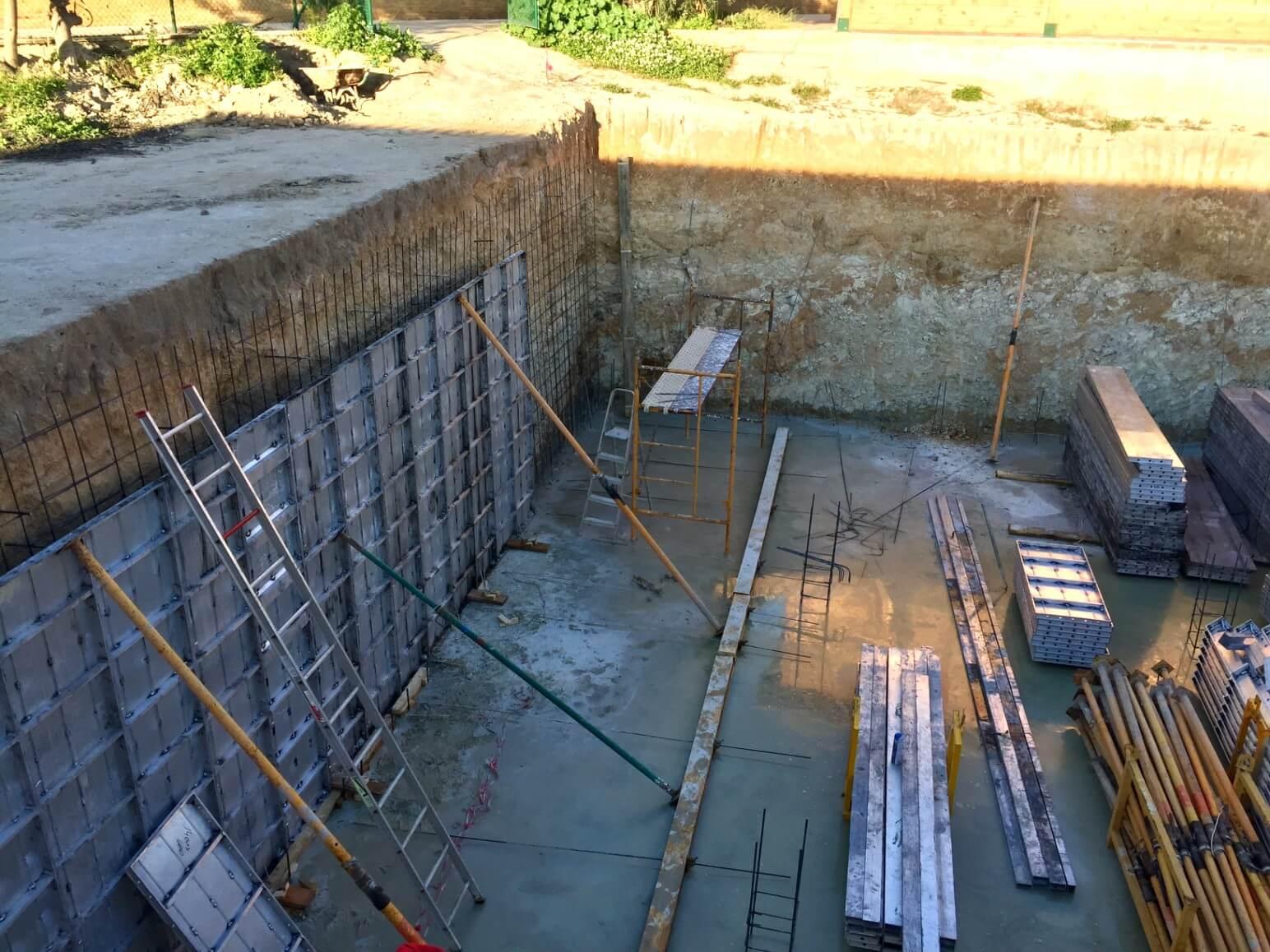 proyecto balsa para riego encofrados de aluminio construccion strong forms alicante 9