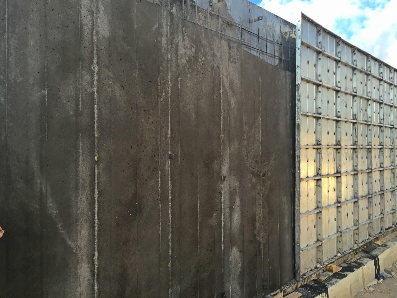 proyecto muro perimetral encofrados de aluminio construccion strong forms alicante 1