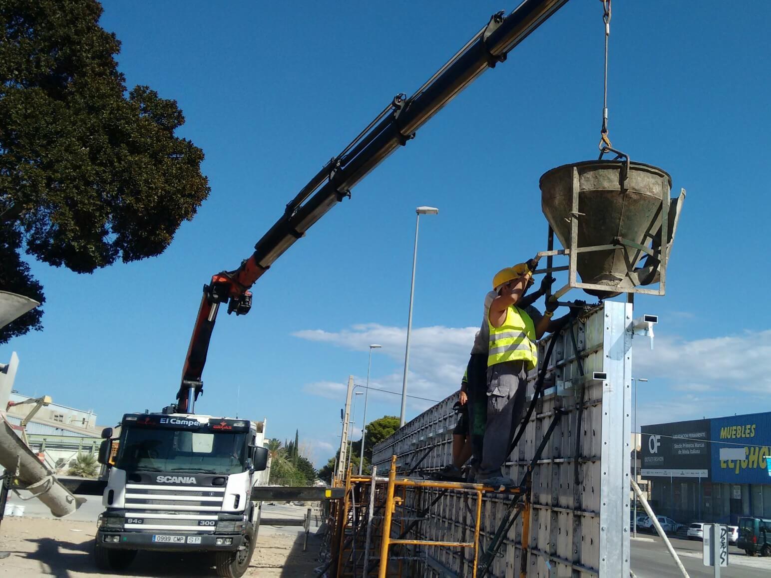 proyecto muro perimetral encofrados de aluminio construccion strong forms alicante 15