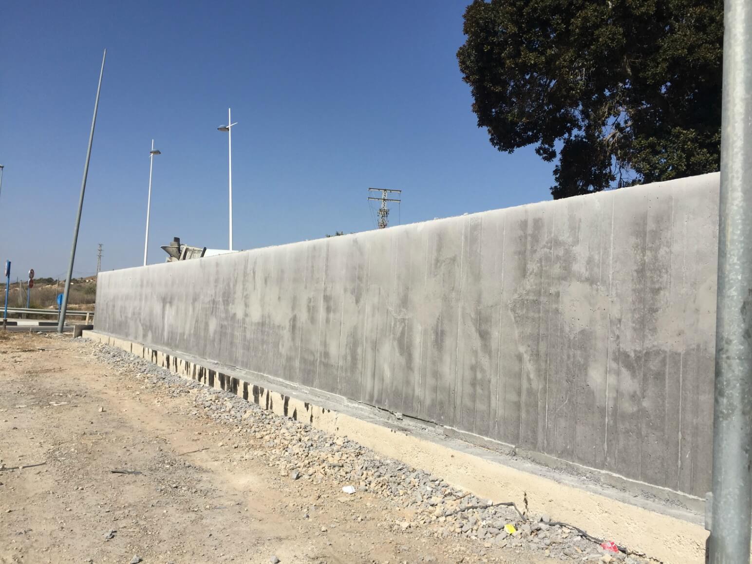 proyecto muro perimetral encofrados de aluminio construccion strong forms alicante 17