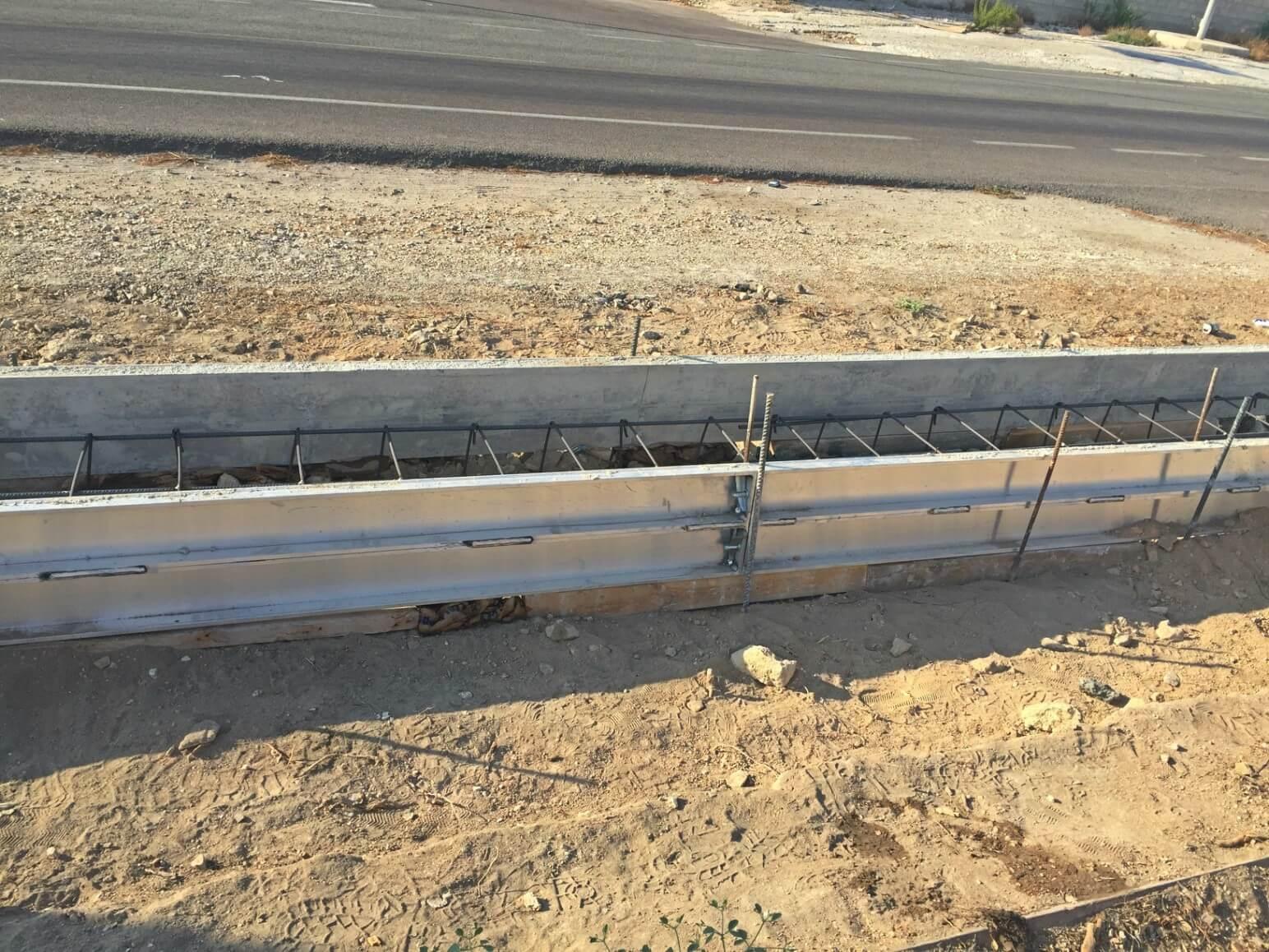 proyecto muro perimetral encofrados de aluminio construccion strong forms alicante 2