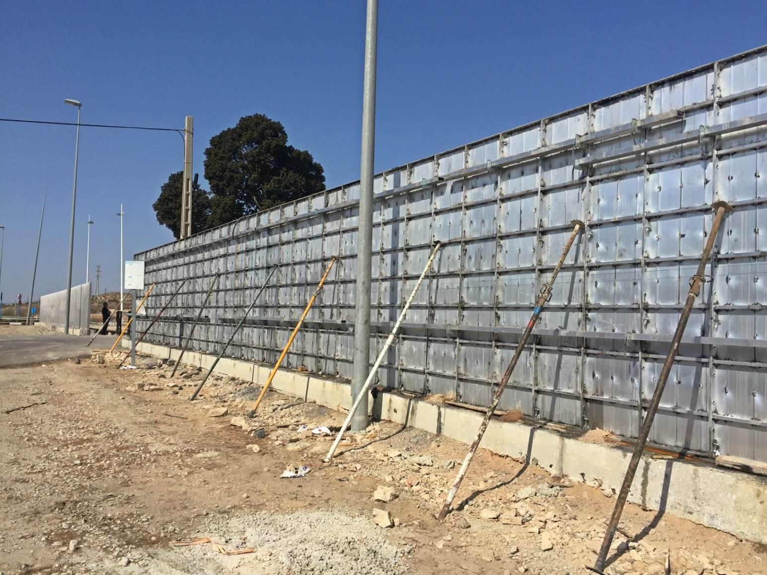 proyecto muro perimetral encofrados de aluminio construccion strong forms alicante 8