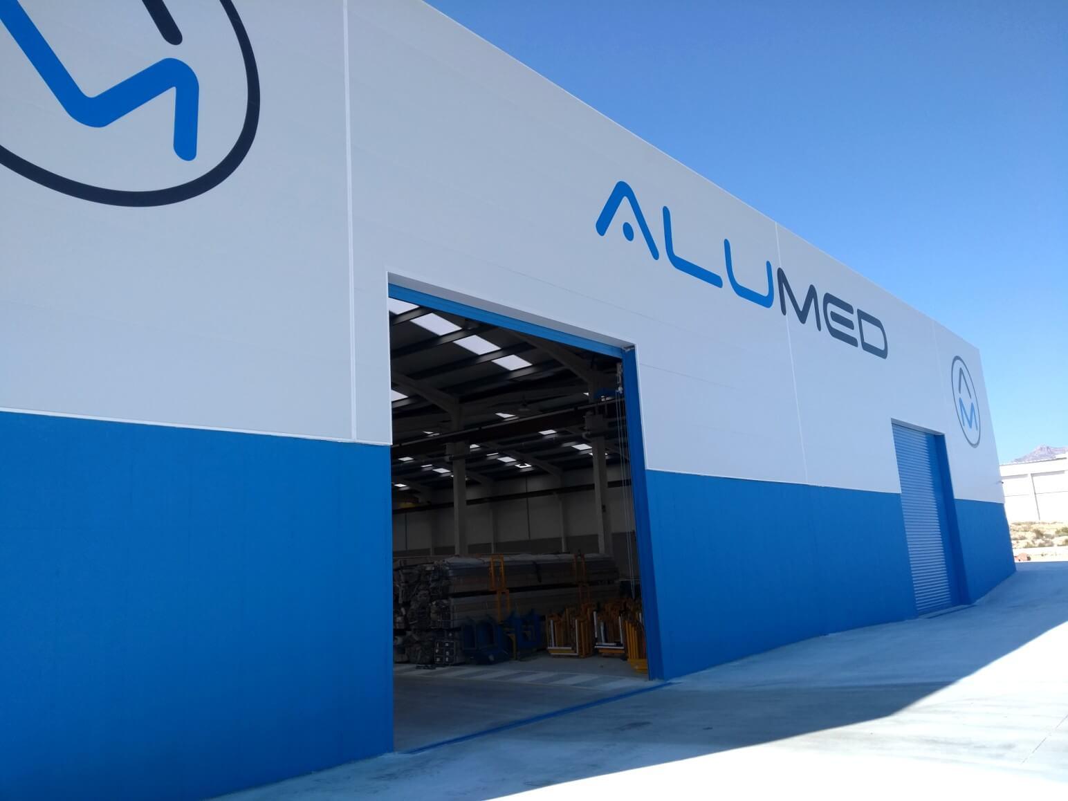 proyecto nave industrial encofrados de aluminio construccion strong forms alicante 12