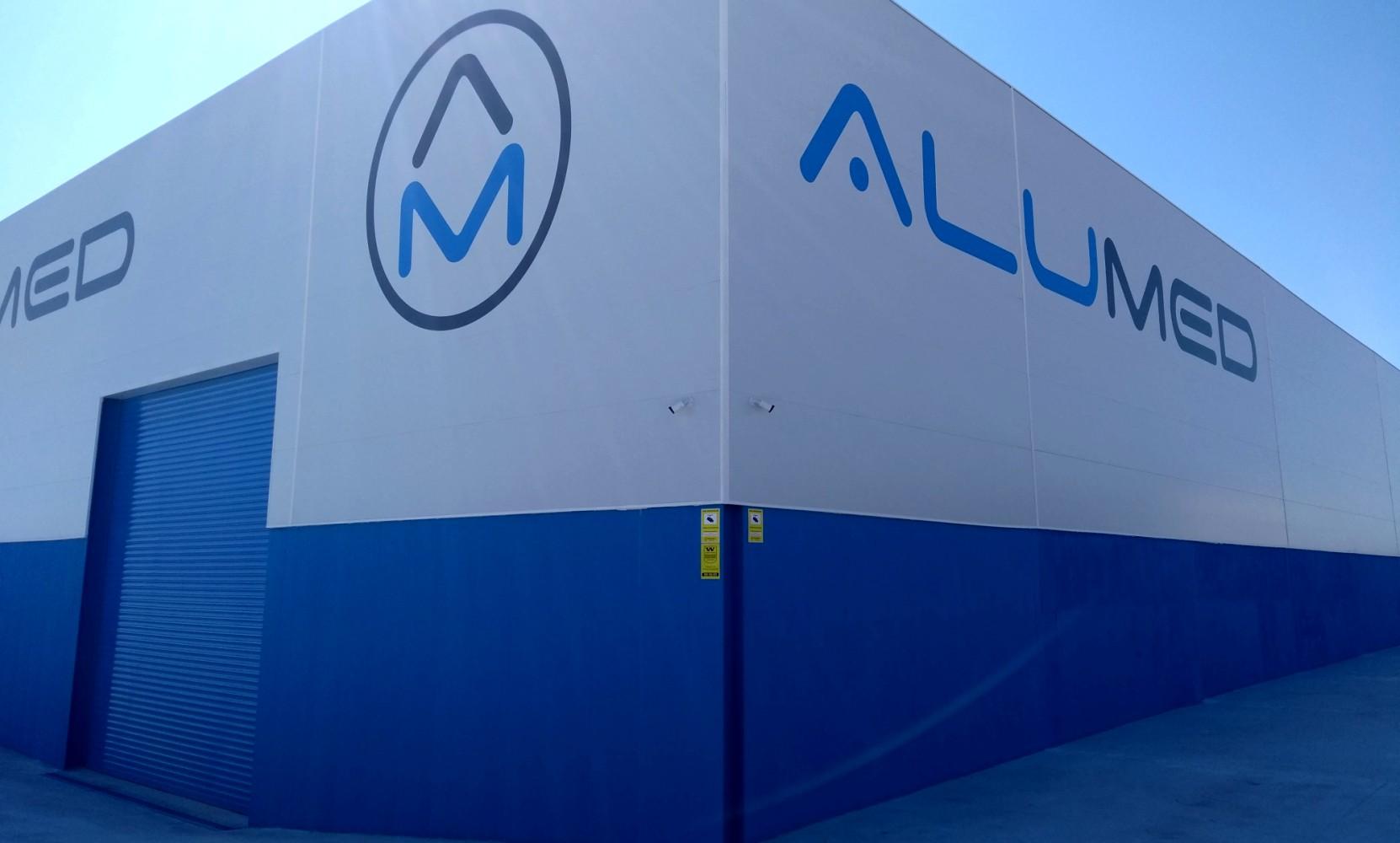 encofrados de aluminio strong forms en nave industrial alumed construcción industrializada masiva alicante nave