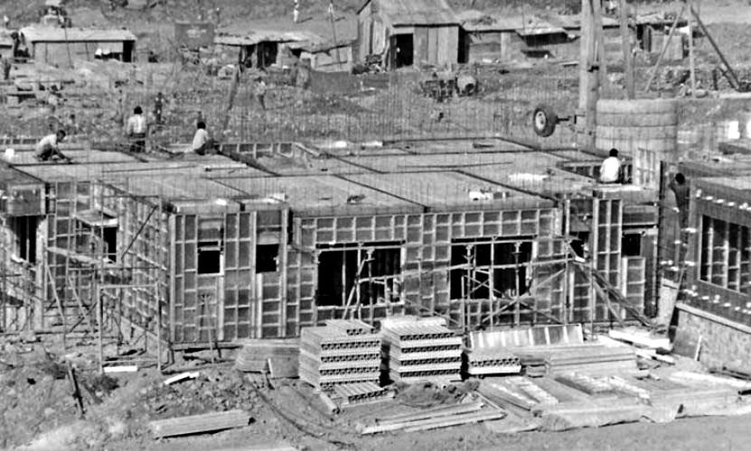 strong forms encofrado de aluminio historia construcción industrializada masiva alicante vintage